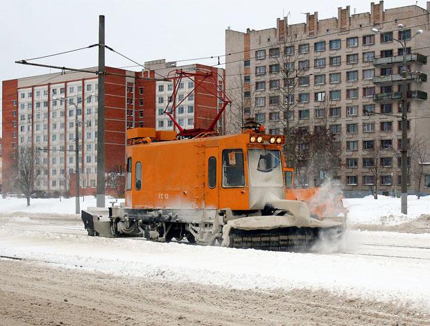 Трамвай-снегоочиститель ГС-4 (Витебск)