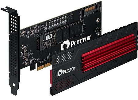 SSD-накопители Plextor M6e Black Edition