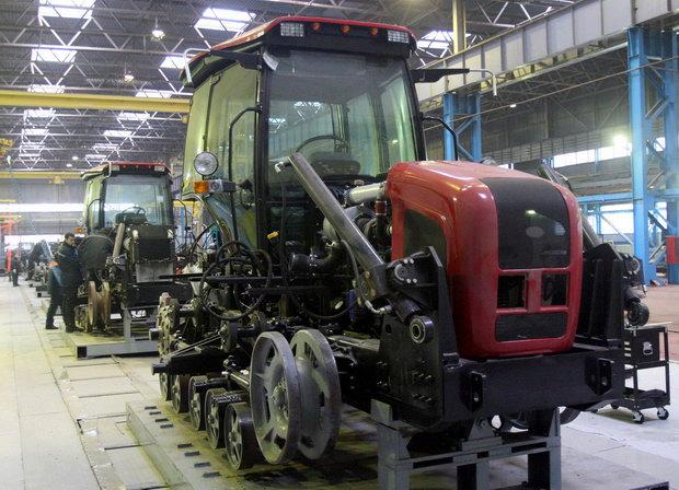 сборка гусеничных тракторов «Беларус-1502-01»