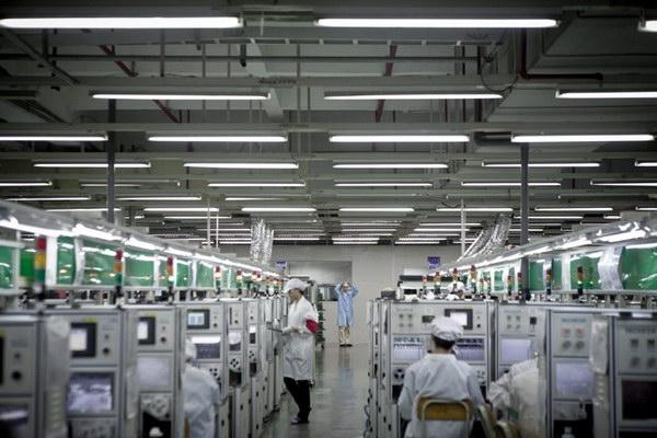 Репортаж с фабрики Foxconn