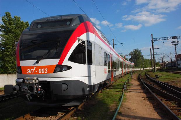 Минская городская электричка Stadler Bussnang AG
