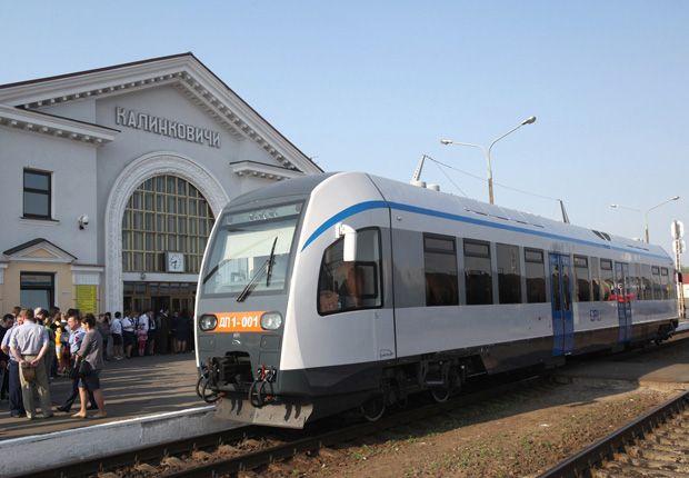 дизель-поезд белорусских региональных линий