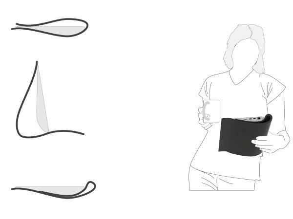 Sotf - концепт планшетного компьютера с гибкой силиконовой клавиатурой