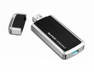 SuperSpeed - первая флешка Super Talent с USB 3.0