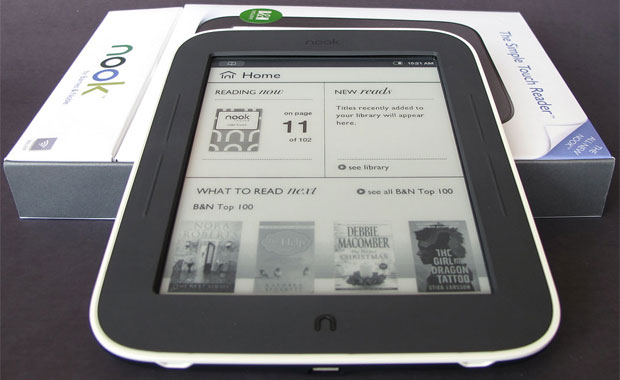 Электронная книга Barnes Noble Nook Simple Touch