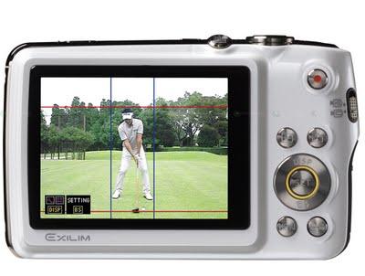 Casio Exilim EX-FS10S – фотоаппарат для гольфистов