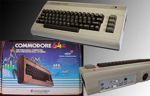 компьютер Commodore 64x