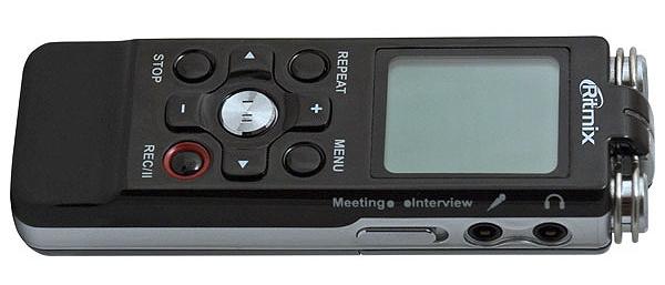 Диктофон с тремя микрофонами Ritmix RR-850