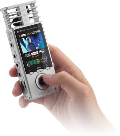 Samson zoomQ3HD, dictaphone, voice recorder, диктофон