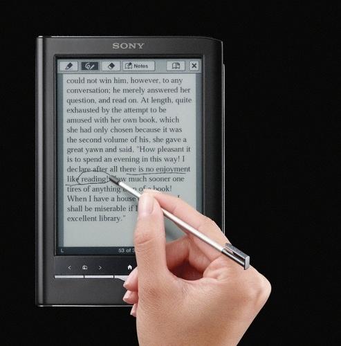 Sony Reader PRS 650 Pocket Edition сенсорная электронная книга