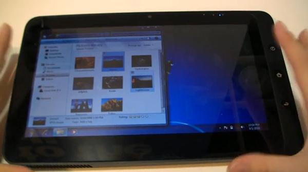 ViewSonic ViewPad 100 - планшетный нетбук с двумя операционными системами