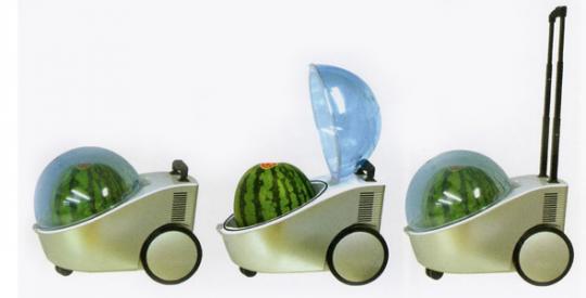 Тележка-холодильник для арбузов