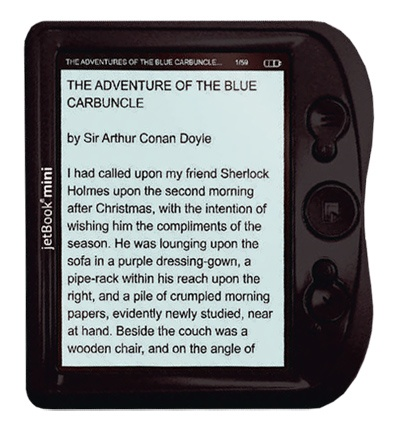 ECTACO jetBook mini – ответ на вопрос когда подешевеют электронный книги