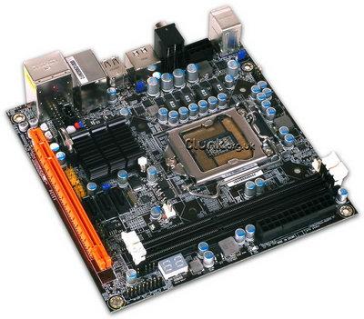 Перспективная Mini ATX плата под сокет LGA 1156 от DFI
