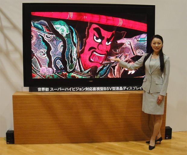 телевизор Sharp Super Hi-Vision