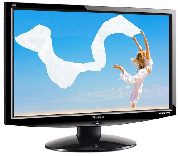 Геймерский 24-дюймовый 3D-монитор ViewSonic V3D241wm LED