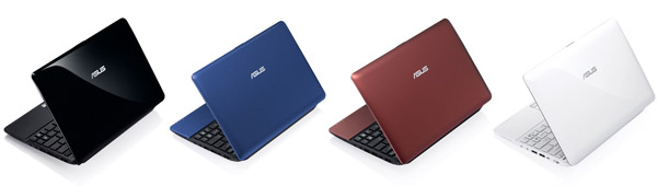 Нетбук ASUS Eee PC 1015PN с процессором Intel Atom N570