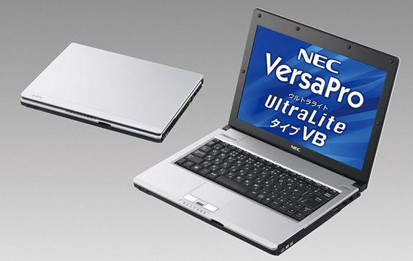 Защищенный нетбук Nec VersaPro UltraLite Type VB