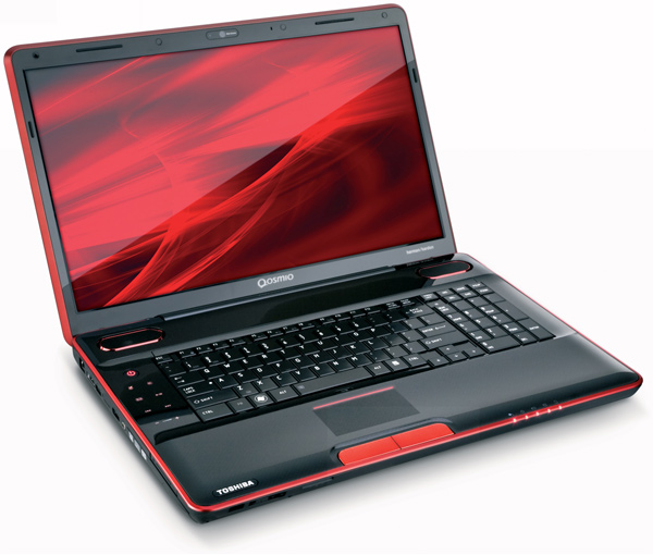 Ноутбук для игр и развлечений Toshiba Qosmio X500