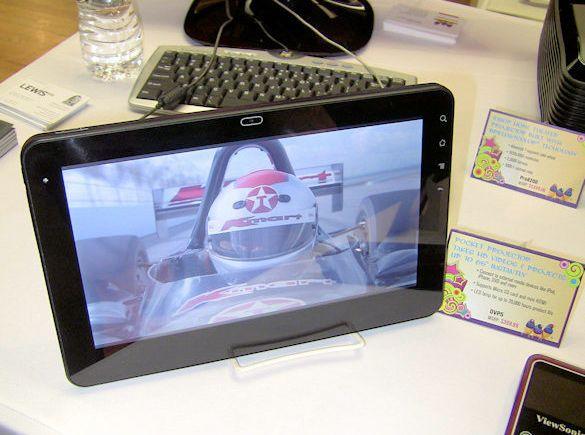 ViewSonic G Tablet - 10-дюймовый планшетный нетбук