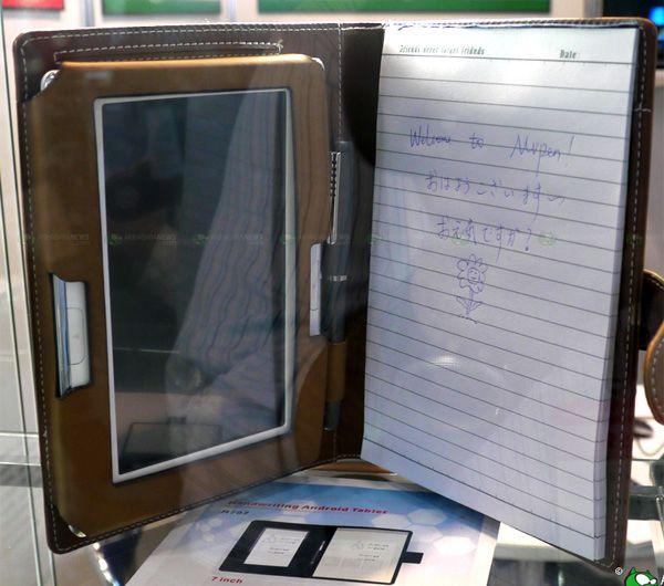 Yifang Digital M707 – электронная записная книжка c рукописным вводом