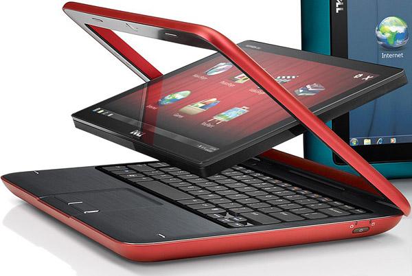 Dell Inspiron Duo - планшетный нетбук-трансформер