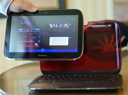 Перспективный Lenovo Ideapad U1 вполне может стать основой для нового корпоративного компьютера Lenovo
