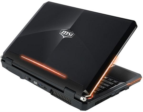 Геймерский ноутбук MSI GT 760