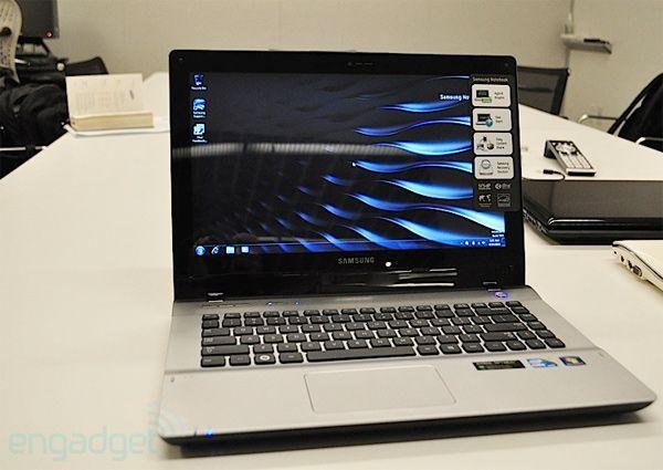 Бизнес-ноутбук Samsung QX 310