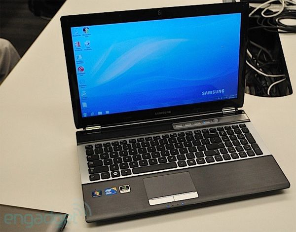 Бизнес-ноутбук Samsung QX 410