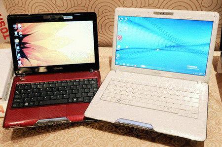 Ультратонкие лэптопы Toshiba Portege T110 и T130